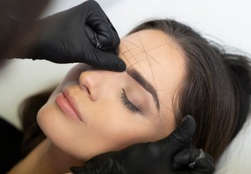 Behandling af permanent øjenbryn